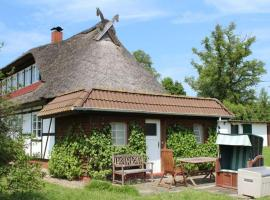 Urlaub im Reetdachhaus, Hohenkirchen (Gramkow yakınında)