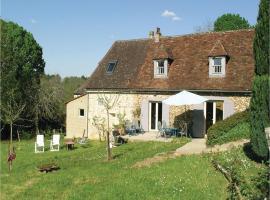Three-Bedroom Holiday Home in Le Bourg, Fleurac, Fleurac