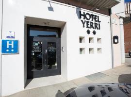 Hotel Yerri, Estella (Muneta yakınında)
