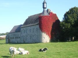 Ferme chateau de Tahier, Ohey (Tharoul yakınında)
