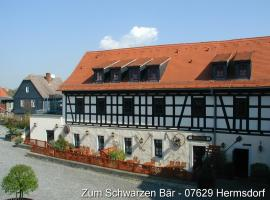 Hotel Zum Schwarzen Bär, Hermsdorf (Bürgel yakınında)