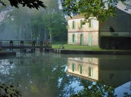 gîte de la Domergue, Mas-Saintes-Puelles (рядом с городом Labastide-d'Anjou)
