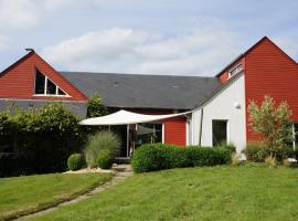Une maison entre kiwis et fraises des bois., Sainte-Suzanne (рядом с городом Веж)