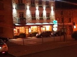 Hotel de Londres, Saint-Just-en-Chevalet (рядом с городом Saint-Marcel-d'Urfé)