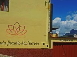 Pousada Recanto das Flores 44, Aiuruoca (Carvalhos yakınında)