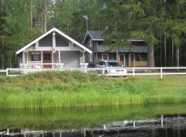 Huhtaniemen Mökkikylä, Sillanpää (рядом с городом Kainu)