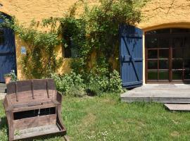 Familienferien im Heumond mit 3 Schlafzimmern, Buschenhagen (Niepars yakınında)