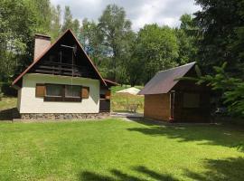 Chata na Cihelne, Nové Město na Moravě (Vlachovice yakınında)