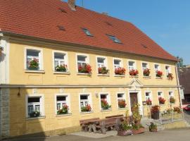 Gasthof Goldenes Rössle, Dinkelsbühl (Langfurth yakınında)