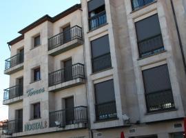 Hostal Torres, San Leonardo de Yagüe (Hontoria del Pinar yakınında)