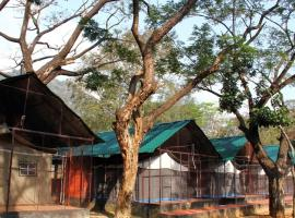 1 BR Tent in Thenmala Post, Kollam (DF78), by GuestHouser