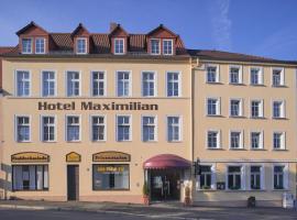 Hotel & Restaurant Maximilian, Zeitz (Elsteraue yakınında)