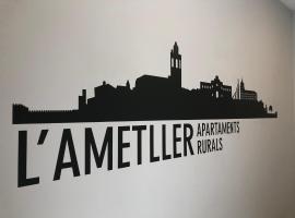 Apartaments L`Ametller, Cervera (Pallarols yakınında)