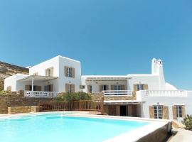 Mykonos-Luxurious villa, pool, panoramic sea view