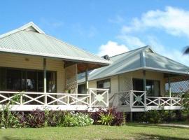 Paparei Beachfront Bungalows, Aitutaki, Arutanga