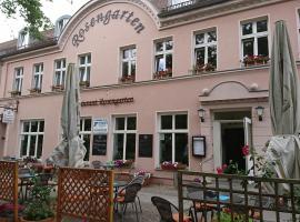 Restaurant Rosengarten, Neuruppin (Netzeband yakınında)