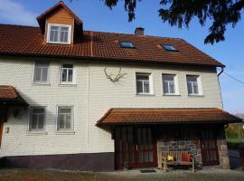 Ferienwohnung Altes Forsthaus Hella, Grebenhain (Bermuthshain yakınında)