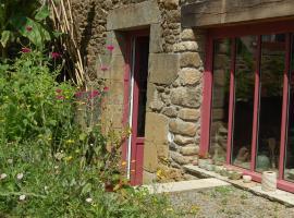 Gite la poterie, La Vicomté-sur-Rance (рядом с городом Saint-Samson-sur-Rance)