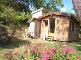 La cabane en bois, Villemur-sur-Tarn (рядом с городом Le Born)