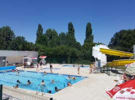 Camping le Moulin Des Effres, Secondigny (рядом с городом Le Beugnon)