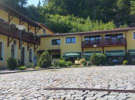 Hotel Výpřež - Děčín, Děčín (Huntířov yakınında)