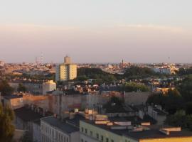 Nocleg w Lodzi z widokiem na panorame