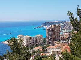 Beausoleil-Monaco T2 neuf mer, Босолей