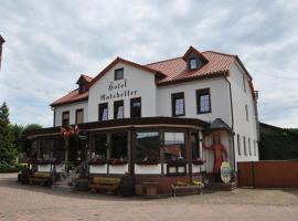 Hotel Ratskeller, Neustadt/Harz (Nordhausen yakınında)