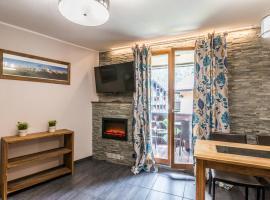 Studio Chamonix Centre with Mont-Blanc View