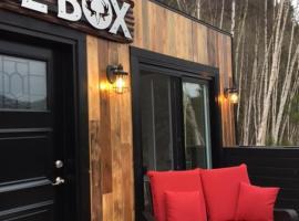 cool box, Le Portage