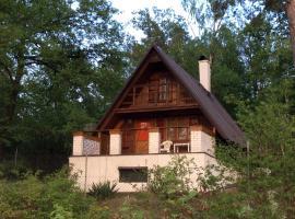 Holiday Cottage V Boroví, Vrané nad Vltavou (Trnová yakınında)