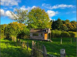 Wood-Lodge Tiny House, Bra (Trou de Bra yakınında)