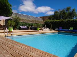 La maison de Gilbert, Chaudes-Aigues (рядом с городом Fournels)