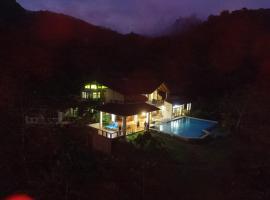 Rio Magnolia Nature Lodge, Barú (Santa Rosa yakınında)