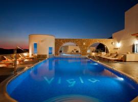 Vigla Hotel, Aegiali