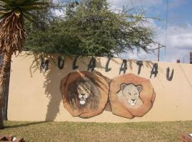 Molalatau Lodge & Campsites, Onverwacht