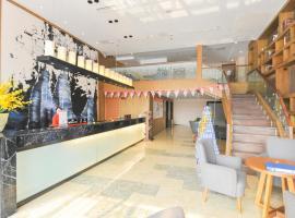 Cloud City Inn Pengzhou Second Office District Peony Mingcheng Branch, Chengdu (Tianpeng yakınında)