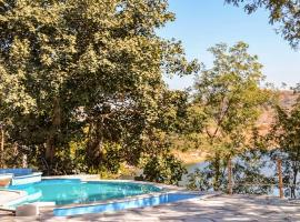 Cottage with a pool in Kelwara, Udaipur, by GuestHouser 38839