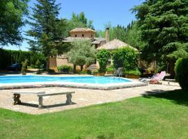 Chalet rural en La Mancha con jardin y piscina privados, Tomelloso (Argamasilla de Alba yakınında)
