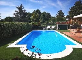 Villa Rosa Lucia immersa nel verde, Rignano Flaminio (Magliano Romano yakınında)