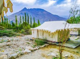 Tent in Chakzot-Hunder, Leh, by GuestHouser 15291, Hundar (рядом с городом Deskit)