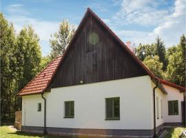 Two-Bedroom Apartment in Veseli nad Luznici, Veselí nad Lužnicí (Vlkov yakınında)