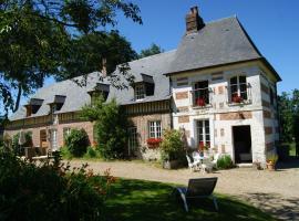 Gîtes de charme Les Châtaigniers, Bretteville-du-Grand Caux (рядом с городом Saint-Maclou-la-Brière)