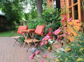 Urlaub für die Familie mit viel Platz im Garten, Gressow (Petersdorf yakınında)