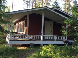 Lake house with sauna, Коувола (рядом с городом Каннускоски)