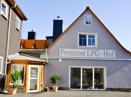 Pension LPG-Hof, Großpösna (Near Threna)