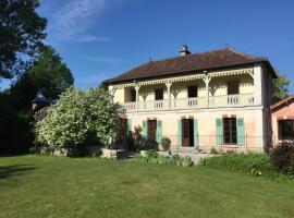 La Villa des Promenades, Vanvey (рядом с городом Rochefort sur Brévon)