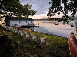 Colonial Pines Lodge and Cottages, Moultonborough (in de buurt van Center Harbor)