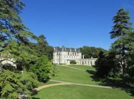 Château de la Barbelinière, Thuré (рядом с городом Saint-Gervais-les-Trois-Clochers)