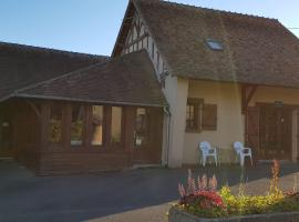 Les Brulis Chambre d'Hôtes, Châtillon-sur-Loire (рядом с городом Pierrefitte-ès-bois)